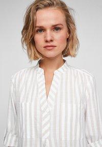 Q/S designed by - Day dress - beige stripes - 3