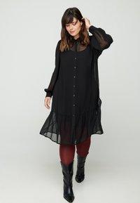Zizzi - Shirt dress - black - 0