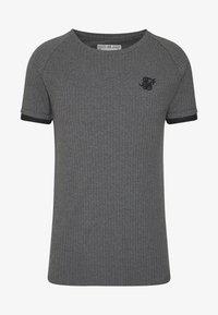 SIKSILK - RIB TECH - T-shirt basic - grey - 4
