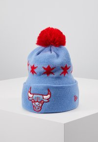 New Era - NBA CHICAGO BULLS OFFICIAL CITY SERIES - Czapka - sky blue - 0