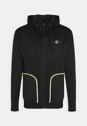 LEGACY FADE ZIP THROUGH HOODIE - Training jacket - black