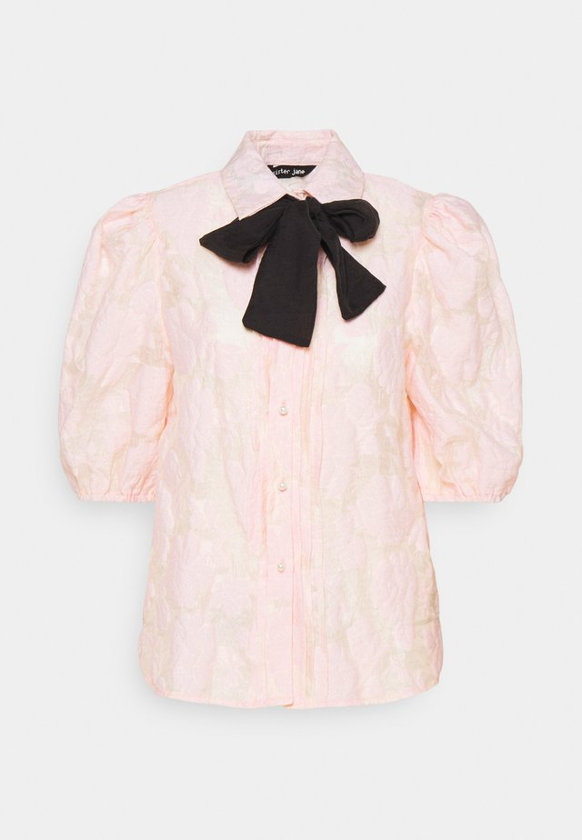 APERITIF FLORAL PUFF SLEEVE BLOUSE - Overhemdblouse - pink