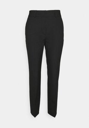 SLFRIA CROPPED PANT - Broek - black
