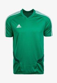 adidas Performance - TIRO 19 AEROREADY CLIMACOOL JERSEY - Club wear - green/white - 0