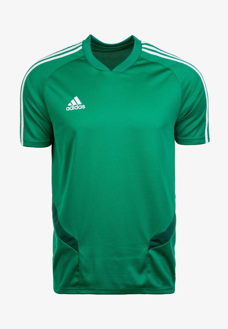 adidas Performance - TIRO 19 AEROREADY CLIMACOOL JERSEY - Club wear - green/white