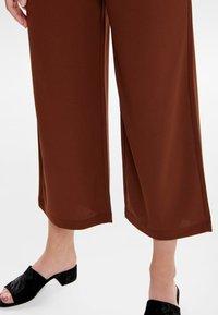 JDY - JRS NOOS - Trousers - brown - 4