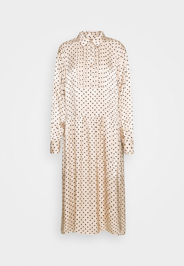 PETRINE DRESS - Robe longue - creme