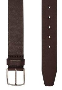 BOSS - Belt business - dark brown - 4