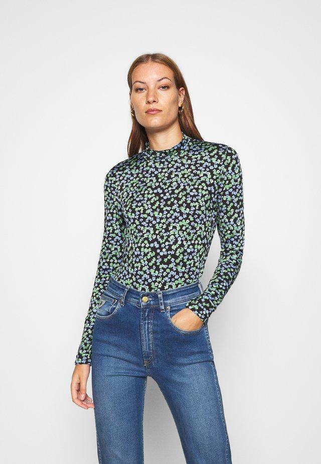 ESSY PRINT - Maglietta a manica lunga - blue