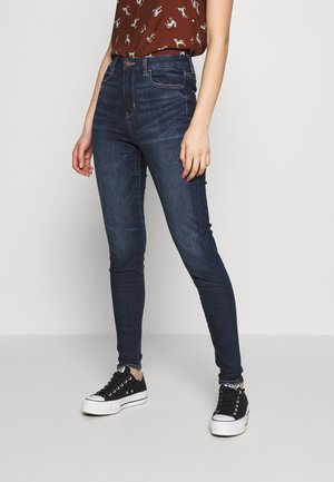 CURVY RISE - Jeans Skinny Fit - midnight dreamer