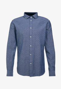 Selected Homme - SLHSLIMMARK WASHED - Formal shirt - dark blue - 4