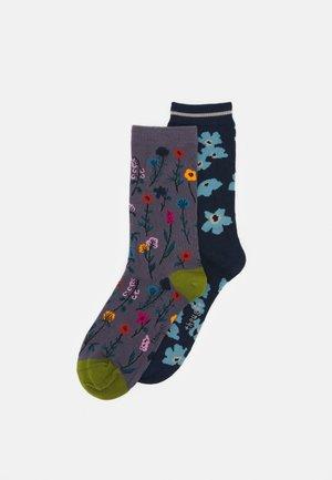 JOAN FLORAL SOCK 2 PACK - Socks - multi