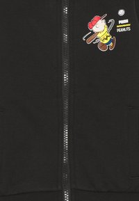 Puma - PEANUTS TRACK JACKET UNISEX - Mikina na zip - black - 2