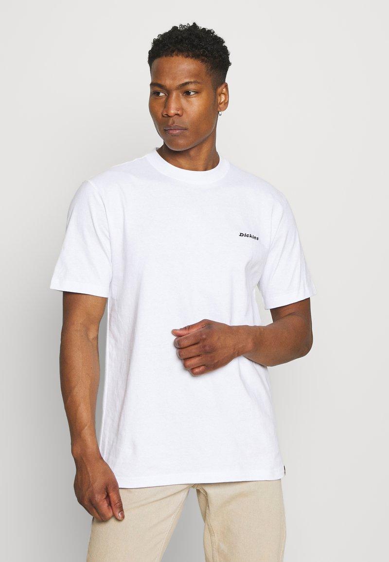 Dickies - LORETTO TEE - T-shirt med print - white