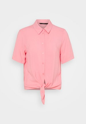 VMNADS TIE - Button-down blouse - geranium pink
