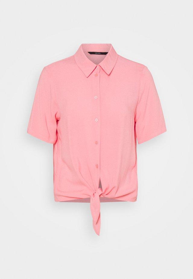 VMNADS TIE - Button-down blouse - geranium pink
