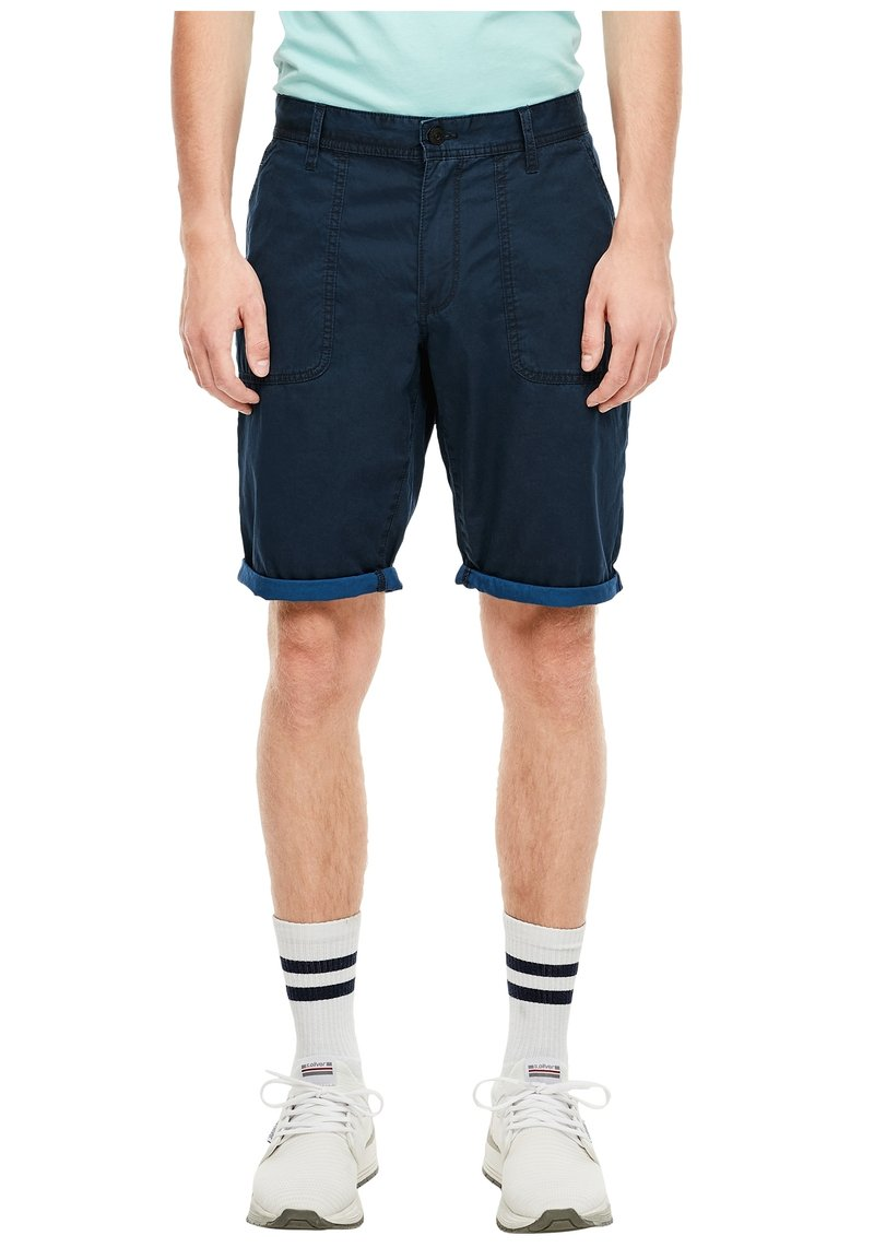 QS by s.Oliver - Shorts - marine