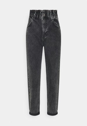 PAPERBAG MOM - Jeans relaxed fit - offblack