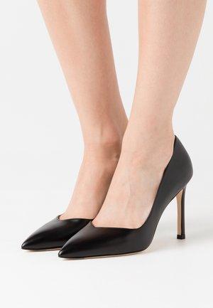 ANNY - Lodičky na vysokém podpatku - black