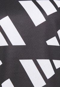adidas Performance - CELEB - T-shirt sportiva - black/white - 5