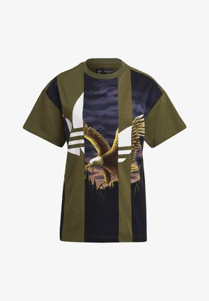 Dry Clean Only xGRAPHIC TEE - Print T-shirt - wild pine