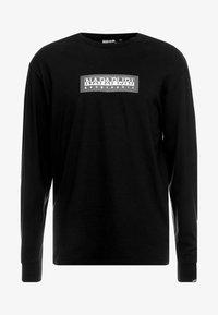Napapijri The Tribe - SOX - Langærmede T-shirts - black - 4