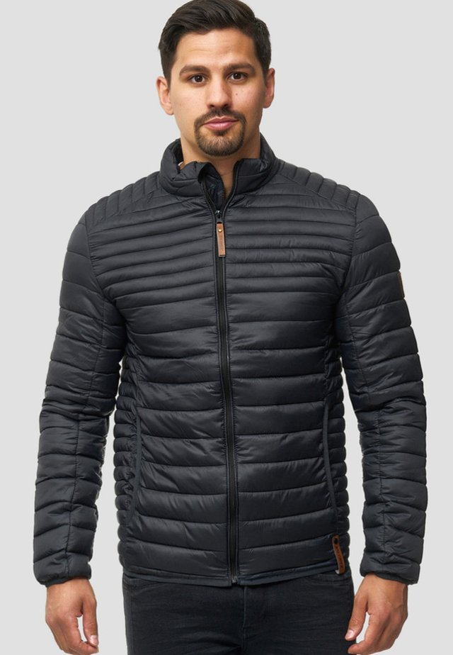 REGULAR FIT - Light jacket - black