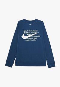 Nike Sportswear - CREW - Sweater - blue foam/white - 1