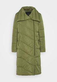 YASSELINA LONG PADDED JACKET - Classic coat - capulet olive