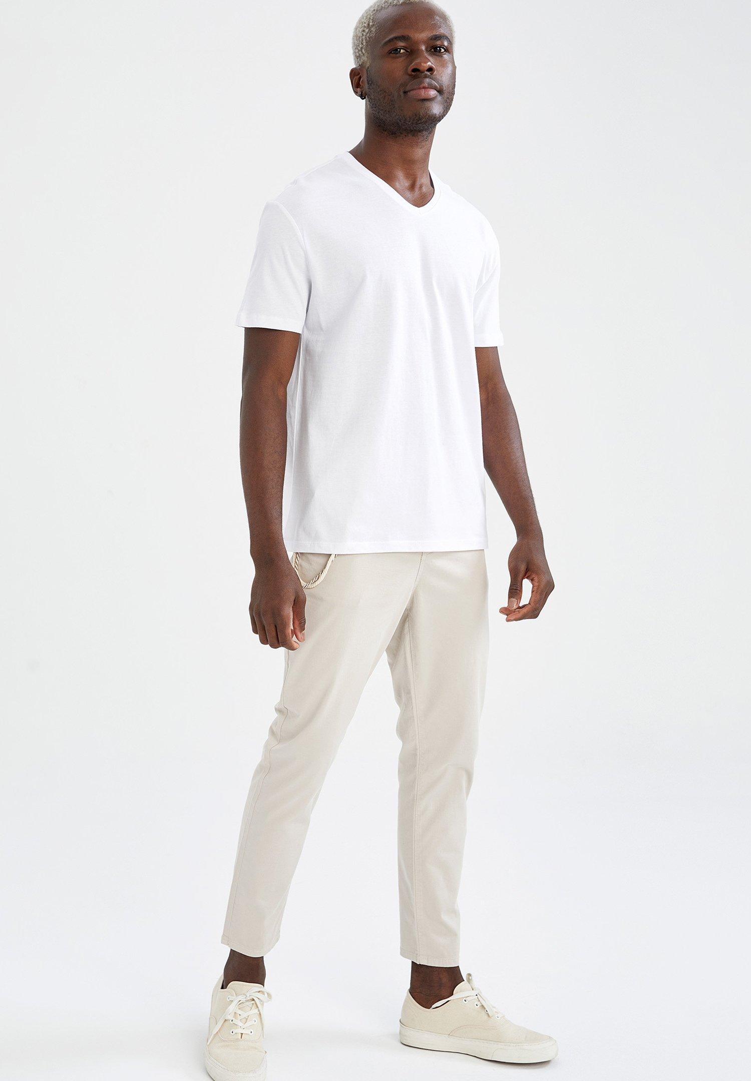 Homme PACK OF 3 - T-shirt basique