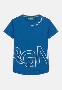 Re-Gen - TEEN BOYS - Triko spotiskem - nautical blue - 0