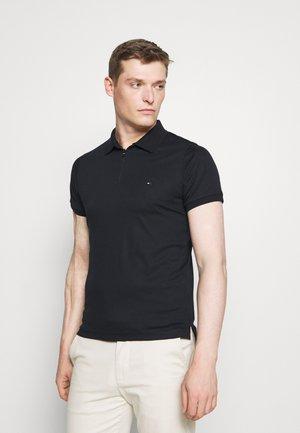 INTERLOCK ZIP SLIM  - Polo shirt - desert sky