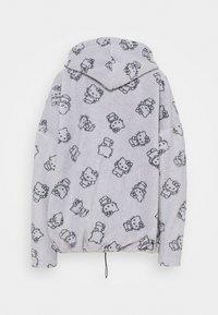 NEW girl ORDER - HOODY - Jersey con capucha - grey - 1