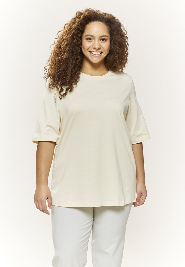 MILY - Basic T-shirt - light yellow