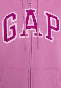 GAP - FASH - Huvtröja med dragkedja - purple clover - 2