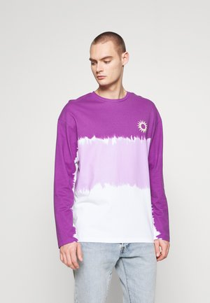 JORHOSSEGOR TEE CREW NECK  - Long sleeved top - purple