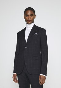 Isaac Dewhirst - WINDOWPANE SUIT - Suit - blue - 4