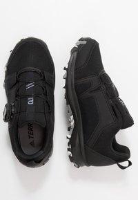 adidas Performance - TERREX AGRAVIC BOA - Hiking shoes - core black/footwear white/grey three - 1