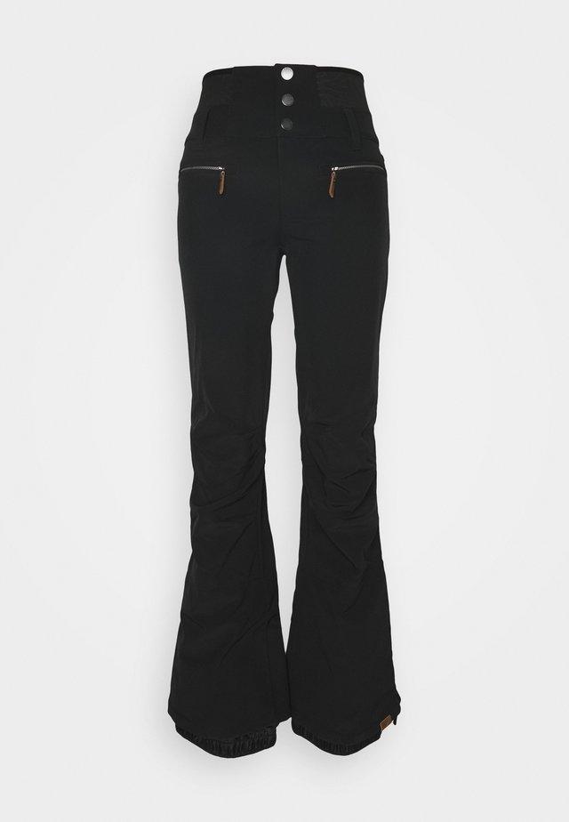 RISING HIGH - Snow pants - true black