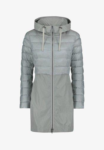 MIT KAPUZE - Winter coat - rauchblau