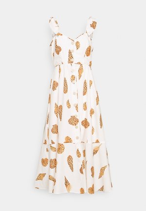 LEOPARD SHELL MIDI DRESS - Shirt dress - multi