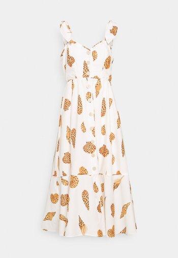 LEOPARD SHELL MIDI DRESS - Shirt dress - multi