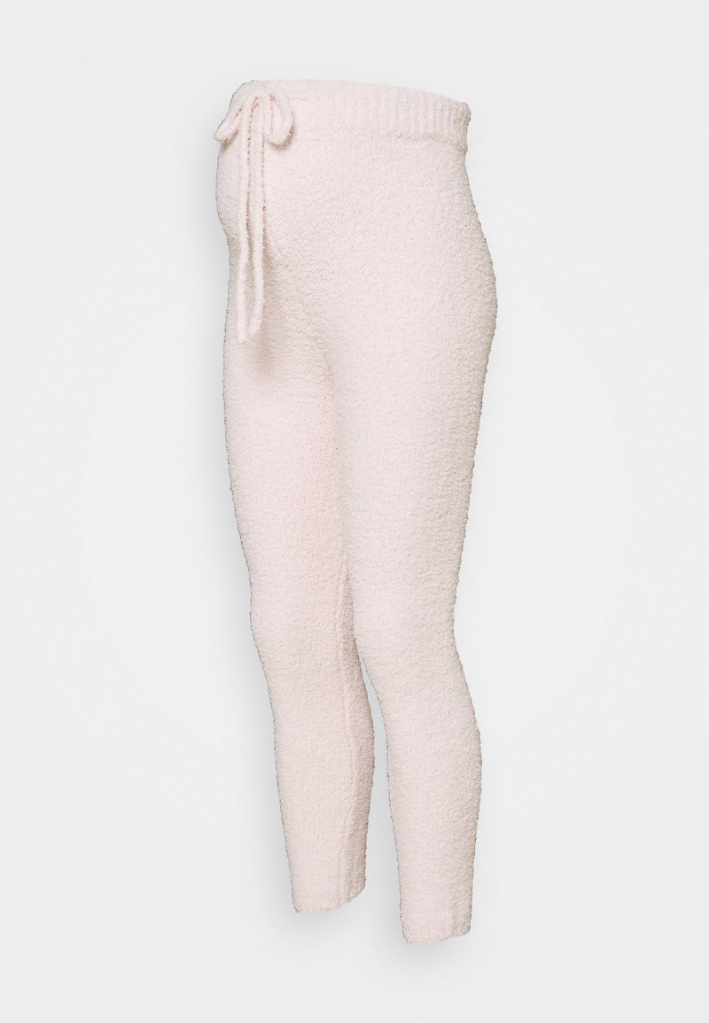 Missguided Maternity - POPCORN JOGGER - Tracksuit bottoms - pink