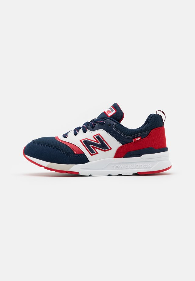 GR997HVN UNISEX - Baskets basses - navy/red