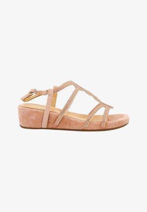 ODESSA - Wedge sandals - pink