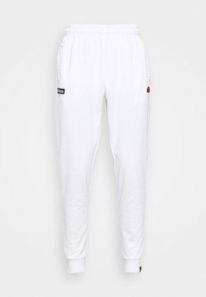 BERTONI TRACK PANT - Pantaloni sportivi - white