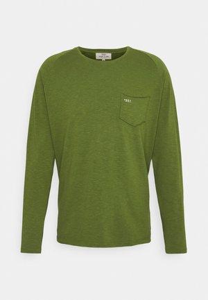 LONG SLEEVE ESSENTIAL UNISEX - Top sdlouhým rukávem - green olive