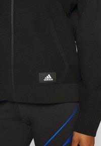 adidas Performance - HOODIE - Mikina na zip - black - 6