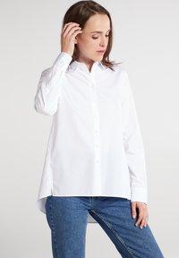 Eterna - Button-down blouse - weiß - 0