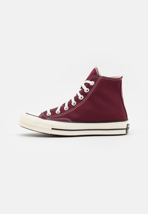 CHUCK 70 RECYCLED UNISEX - High-top trainers - deep bordeaux/egret/black